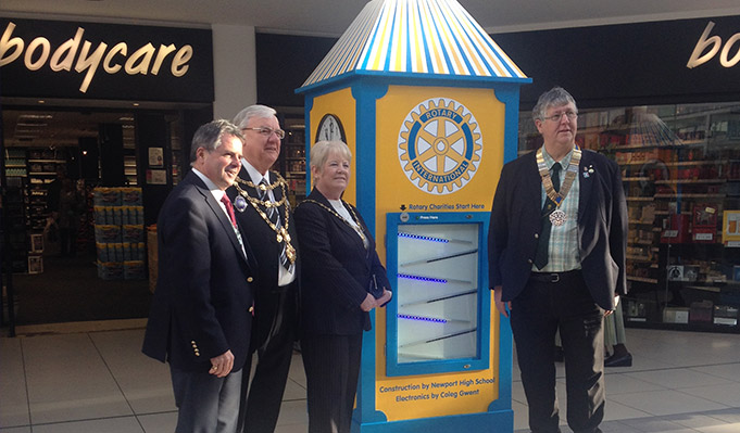 The Inauguration of the Rotary Clock