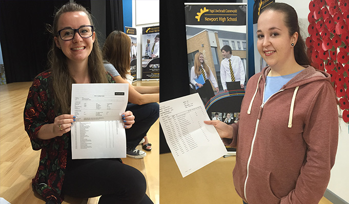 Another year of A Level & Level 3 success at Newport High