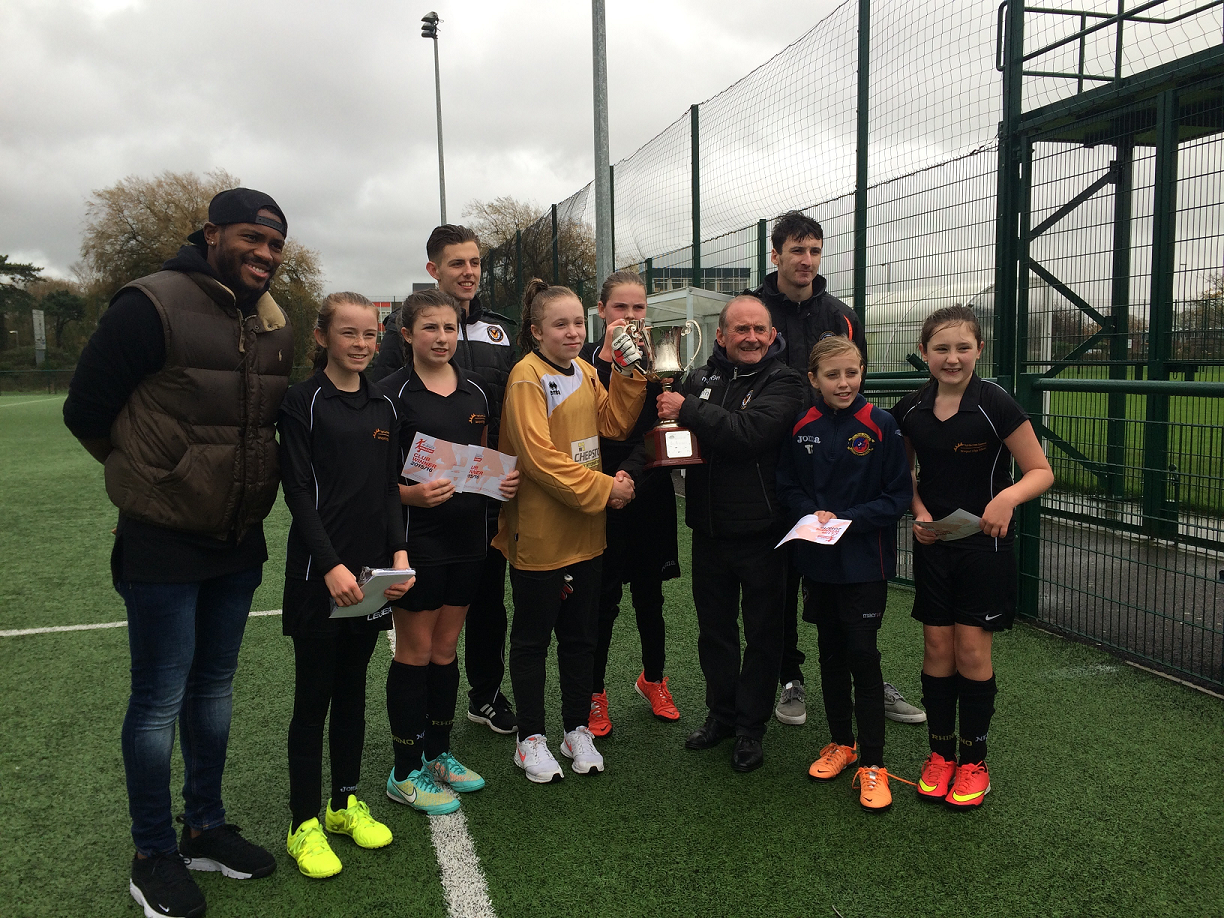 U13 Girls' Football Triumph